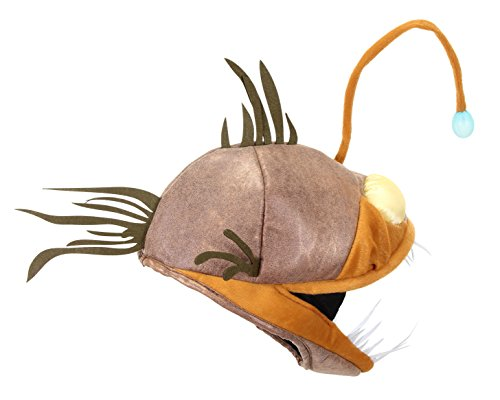 Anglerfish Light-Up Jawesome Hat by elope