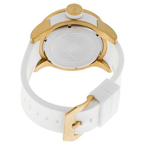 Swiss Legend Men's 30427-YG-02 Airbourne Analog Display Swiss Quartz White Watch