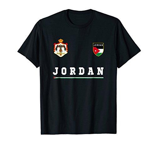 Jordan T-shirt Sport/Soccer Jersey Tee Flag Football Amman