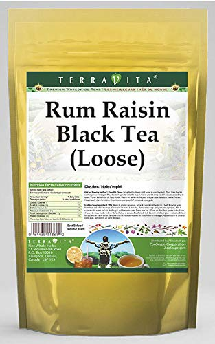 Rum Raisin Black Tea (Loose) (8 oz, ZIN: 532257)