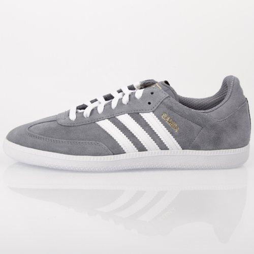 adidas samba grey white