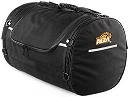 Amazon.com: AGM Rolly motocicleta bolsa de viaje, Negro ...