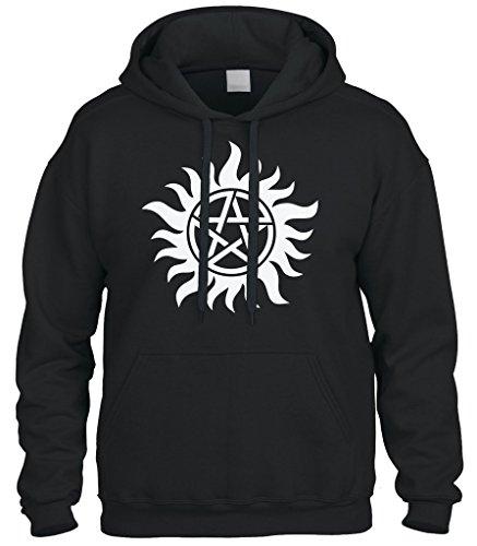 Cybertela Anti Possession Symbol Sweatshirt Hoodie Hoody
