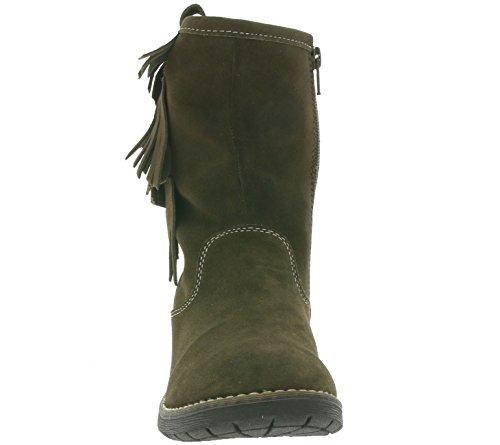 Lurchi Mädchen Lilo-Tex Kurzschaft Stiefel 24°brown