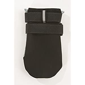 Ultra Cool Dog Boots, Silver - Petite