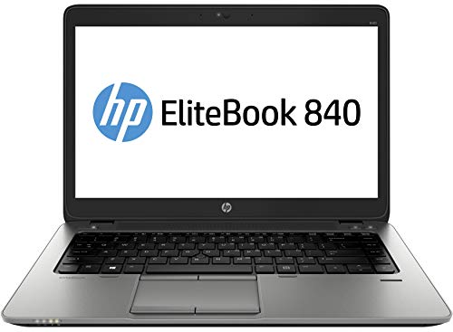 HP ELITEBOOK 840 G2, 14in, INTEL CORE I7-5600U @2.6GHZ, 8GB RAM, 500GB HDD, INTEL HD GRAPHICS 5500, WINDOWS 8.1 PRO Laptop (Renewed)
