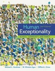 Human Exceptionality, Loose-leaf Version