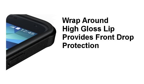 low priced c0dfe c4d0e Galaxy S5 Case, Diztronic Matte Back Ultra TPU Case for Samsung Galaxy S5  (Black)