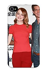 Fashionable Style Case Cover Skin Series For Iphone 4/4s- Jamie Foxx Emma Stone And Andrew Garfield