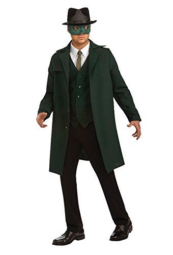 [Green Hornet Deluxe Costume, Black, X-Large] (The Green Hornet Costume)