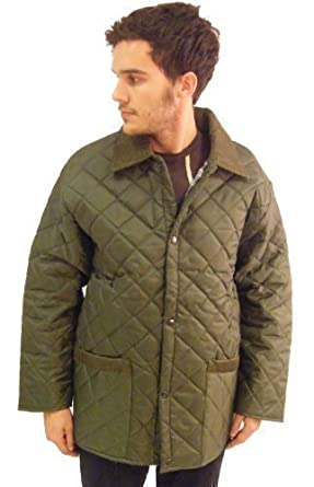 6df02f6b4c15f Campbell Cooper Mens Standard Quilted Newmarket Riding Jacket:  Amazon.co.uk: Clothing