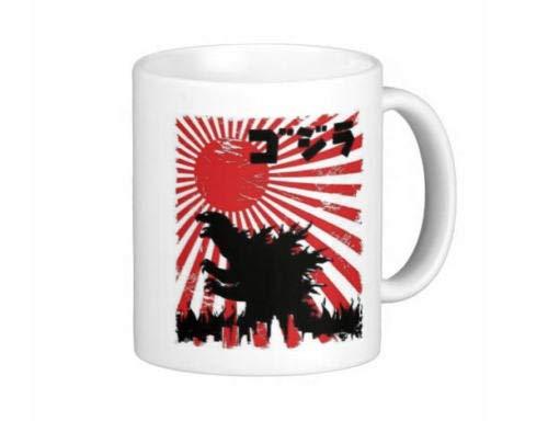 Japanese Godzilla Poster Coffee Mug Tea Cup