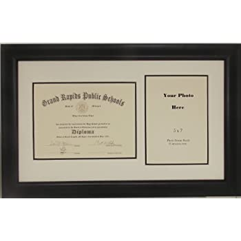 Amazon.com - Graduation High School Diploma 6x8 Certificate with 5 X ...