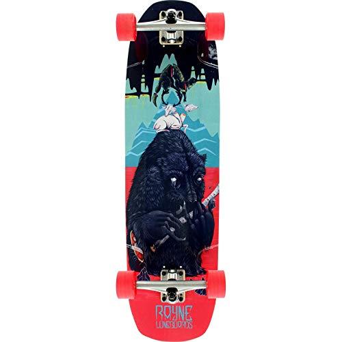 Rayne Brightside Bear Complete Cruiser Skateboard – 9.25 x 34
