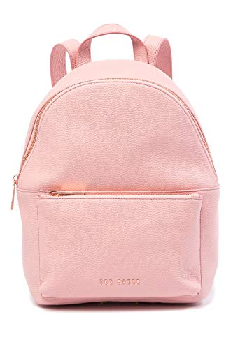 Ted Baker London Pearen Soft Grain Leather Backpack (Light Pink)