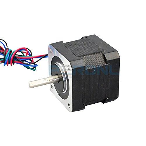 0.9deg Nema 17 Stepper Motor Bipolar 0.9A 36Ncm/50oz.in 42x42x39mm 4-wires DIY