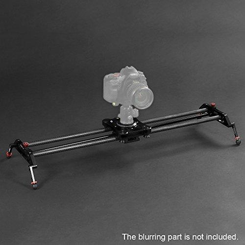 Andoer GP-80Q Camera Track Slider 80cm Carbon Fiber DSLR Por