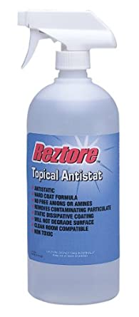 Desco Reztore 10415 Topical Antistat, 1 quart Spray Capacity
