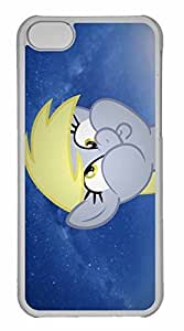 iPhone 5C Case, Personalized Custom Derpy Way for iPhone 5C PC Clear Case