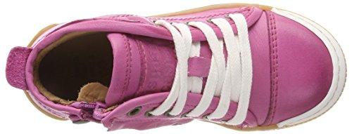 Bisgaard Schnürschuhe, Zapatillas Altas Para Niñas Rosa (Pink)