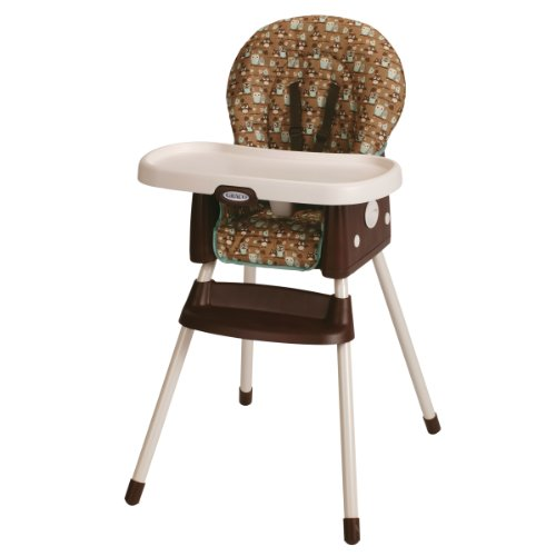 Graco SimpleSwitch Convertible High Chair and Booster, Little Hoot Graco Baby Gear
