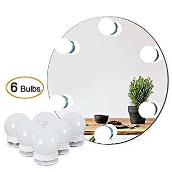 Waneway Hollywood Vanity Lights For Lighted Makeup Mirror Dressing Table DIY LED Lighting Strip Stick On