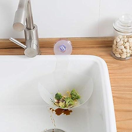 Filtre Effil/é de R/ésidus Alimentaires Pliable Gadget de Cuisine pour la Manipulation des D/échets Alimentaires Starall Filtre Alimentaire Pliable Effa/çable R/éutilisable