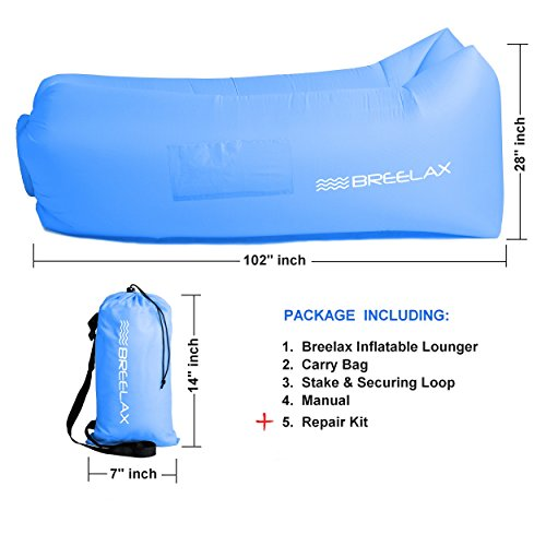 Inflatable Lounger Air Chair Best Furniture For Camping