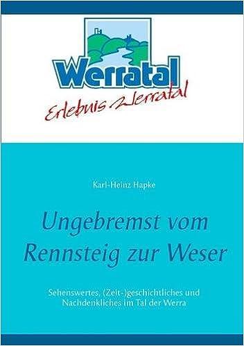 Book Ungebremst vom Rennsteig zur Weser