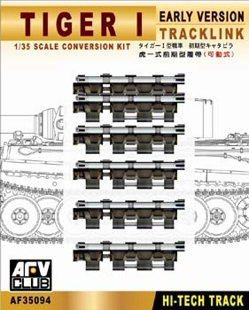 Track Links Afv Club - Tiger I Early Version Workable Track Link Conversion Kit 1-35 AFV Club