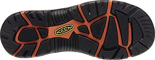 KEEN Utility Men's Braddock Low Steel-Toed Boot,Black/Bossa Nova,10.5 D US by KEEN Utility (Image #5)