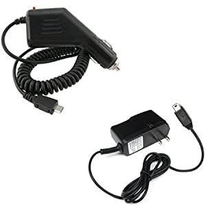 LG Quantum C900 Combo Rapid Car Charger + Home Wall Charger for LG Quantum C900