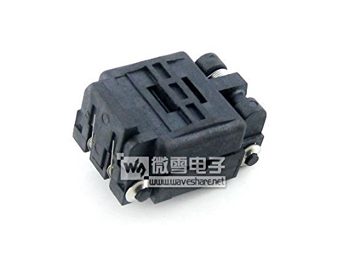 pzsmocn Test&Burn-in Socket 32QN40TS24040 Plastronics IC Test & Burn-in Socket, for QFN32, MLP32, MLF32 package Pitch: 0.4 mm by pzsmocn