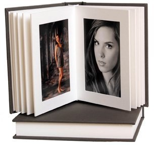 Amazoncom Artisan Greywhite Slip In Album 8x10 10 Pages20