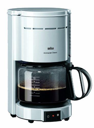 Braun KF 47 Aromaster Plus Weiß Kaffeemaschine