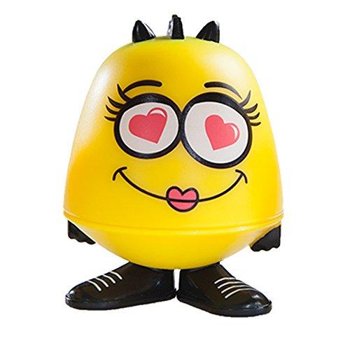 Emoji Goof Balms - Natural Kids Lip Balm + Moisturizing & Repair + Helps Prevent Cracked Lips + Strawberry Sorbet Chapstick + Fun Party Supplies + (6 Pack) by Goof Balms (Image #1)