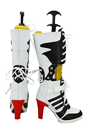 Women's Halloween Cosplay Shoes - Harley Quinn