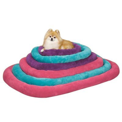Slumber Pet Bright Terry Crate Beds - Soft and Comfortable Brightly Colored Beds for Dogs and Cats - X-Large, 473/4 x 293/4, Raspberry by Slumber Pet