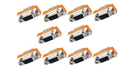 eDragon 10 Pack DB9 M/F Null Modem Mini Type by eDragon
