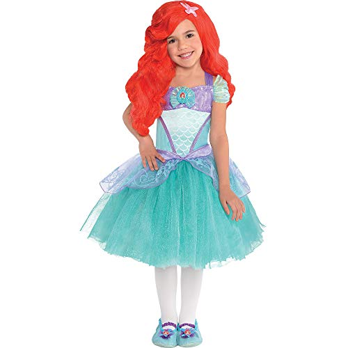 Suit Yourself Ariel Halloween Costume Premier for Girls, The Little Mermaid, Small]()
