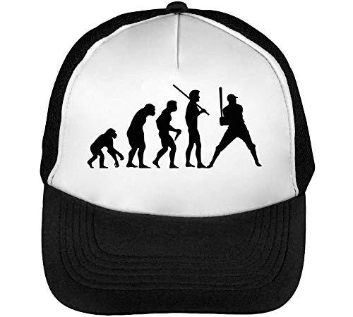 Baseball Negro Blanco Beisbol Evolution Gorras Hombre Snapback Human 4nFAZq5Wa