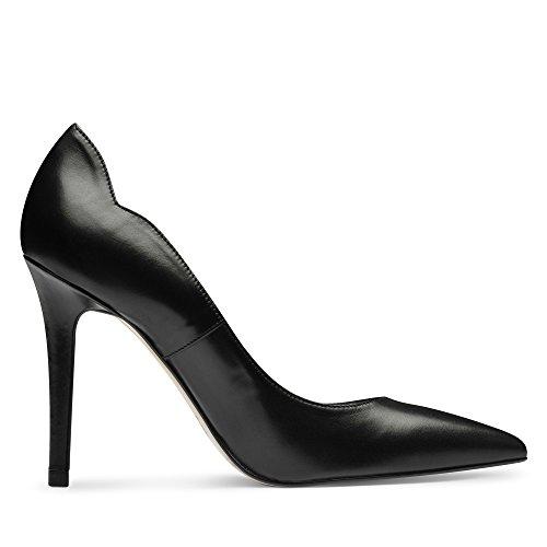 Evita Shoes Alina Damen Pumps Glattleder Schwarz