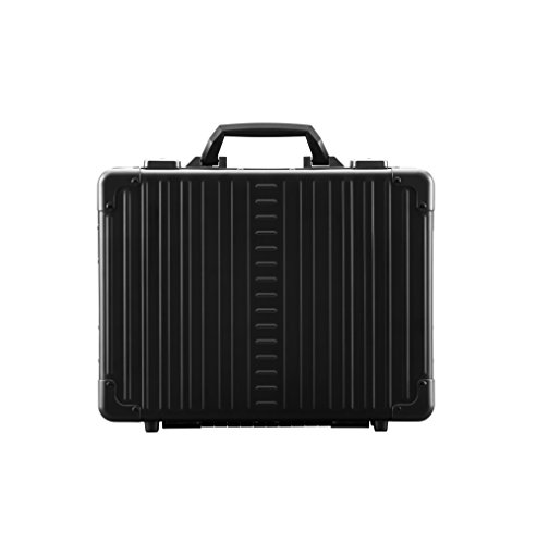 Aleon 15'' Business Attache Aluminum Hardside Business Briefcase (Onyx) Black by ALEON