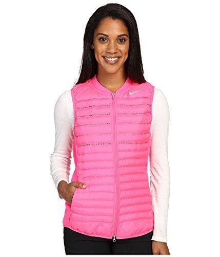 Nike Aeroloft Combo Golf Vest 2016 Womens Hyper Pink/Wolf Grey/Reflective Silv Large