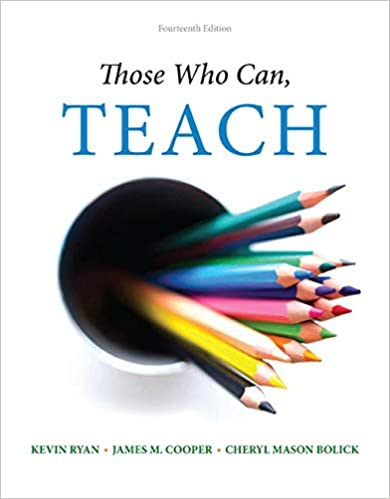 Those Who Can Teach Kevin Ryan James M Cooper Cheryl Mason
