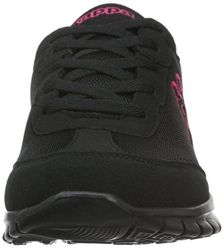 Rocket Pink 1122 Black Sneaker Schwarz Kappa Damen 7w8vaa