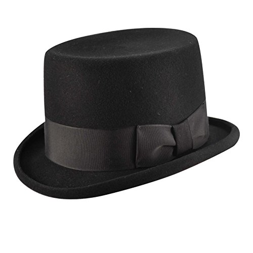 Bailey Western Big Zwey Top Hat Black 7 1/4 (Bailey Western Top)