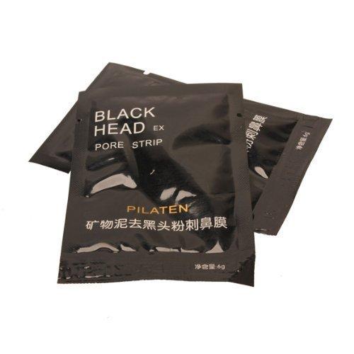 Vktech PILATEN 10 x Mineral Mud Blackhead Removal Nasal Membranes Cleasing Strips 43991
