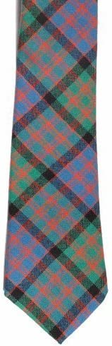 100% corbata de lana de cuadros escoceses - MacDonald Ancient ...