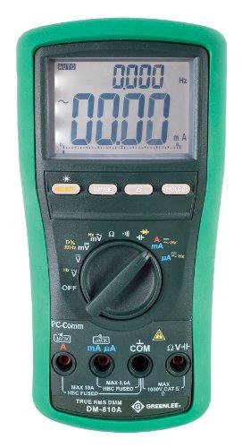 Greenlee DM-810A True RMS Digital Multimeter 1000 Volt